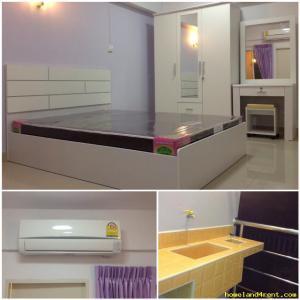 อพาร์ทเม้นท์พร้อมเฟอร์นิเจอร์ 3800-4200 กรุงเทพมหานคร เขตห้วยขวาง ห้วยขวาง