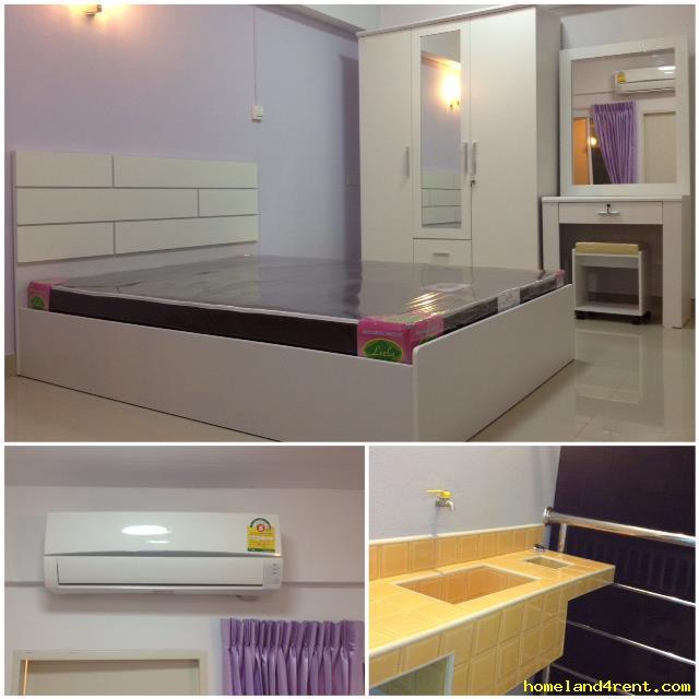 อพาร์ทเม้นท์พร้อมเฟอร์นิเจอร์ 3,800-4200 กรุงเทพมหานคร เขตห้วยขวาง ห้วยขวาง