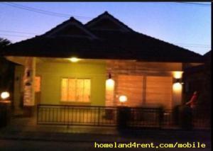 หมู่บ้านแมกไม้ บ้านเดี่ยวให้เช่าพร้อมเฟอร์นิเจอร์ ต.บางละมุง จ.ชลบุรี