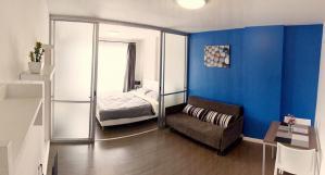6A111394 ให้เช่าคอนโด Dcondo Kathu ชั้น 5 มี 1 ห้องนอน 1 ห้องน้ำ เนื้อที่ 29.93 ตรม. ใกล้ตลาดสดกะทู้ ราคาเช่าเดือนละ 9,000 บาท