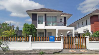 6A111431 ให้เช่าบ้านเดี่ยวสองชั้น 3ห้องนอน 3ห้องน้ำ เดือนละ 20,000 บาท