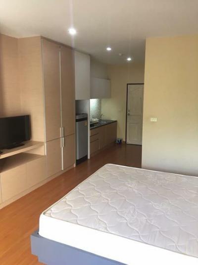 6A101071 ให้เช่าคอนโดมิเนียม Green Places Condominium 1 ห้องนอน 1 ห้องน้ำ เนื้อที่ 37.8 ตรม. ราคาเช่าเดือนละ 6,500 บาท