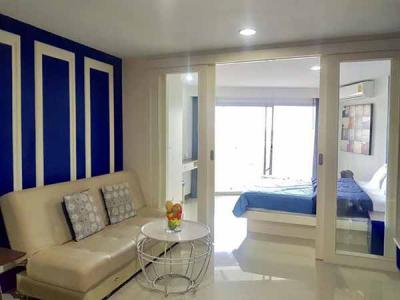 6A60134 ให้เช่าคอนโด Phuket Palace Condominium 1 ห้องนอน 1 ห้องน้ำ ราคา 30,000บาทต่อเดือน พื้นที่ 50 ตรม.