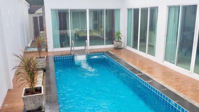 6A40322 ให้เช่า Pool villa 3 ห้องนอน 3 ห้องน้ำ ตกแต่งสวยงามพร้อมเฟอน์นิเจอร์ครบครันพร้อมอยู่