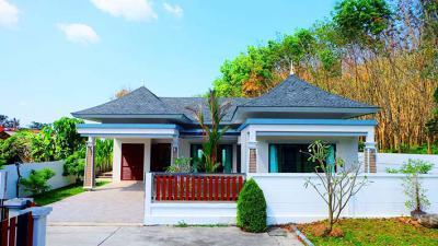 6A120481 ให้เช่าบ้านเดี่ยวชั้นเดียว 3 ห้องนอน 2 ห้องน้ำ พื้นที่ 100 ตรว.  ราคาเช่าเดือนละ 40,000 บาท ใกล้น้ำตกโตนไทร ต.เทพกระษัตรี อ.เมือง
