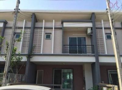 6A111559 ให้เช่าทาวน์เฮ้าส์ 2 ชั้น 3 ห้องนอน 2 ห้องน้ำ 1 ห้องครัว พื้นที่ 35 ตรว. ใกล้โรงเรียนนานาชาติบริติช ราคาเช่าเดือนละ 13,000 บาท
