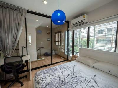 ให้เช่าทาวน์โฮม The private sukhumvit 77 3 ชั้น 168 ตรม. 4 bed 4 bath BTS อ่อนนุช ราคา 35000 บาท/เดือน fully furnished
