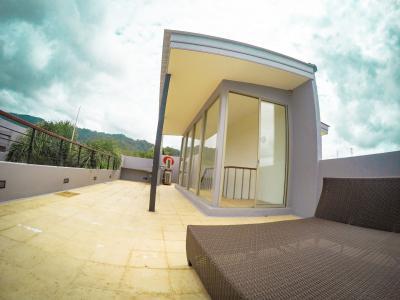 6A120487 ให้เช่าบ้านเดี่ยวสามชั้น 3 ห้องนอน 3 ห้องน้ำ พื้นที่ 216 ตรม. ใกล้ศูนย์วิจัยและพัฒนาประมงชาย ราคาเช่าเดือนละ 60,000 บาท