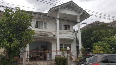 ให้เช่าบ้านเดียว หมู่บ้านกานดาการ์เด้น ราคา 9,000 บาท/เดือน