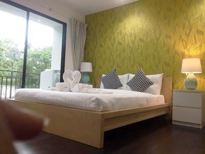 6A80435 ให้เช่าคอนโดมิเนียม 1 ห้องนอน 1 ห้องน้ำ พื้นที่ 42 ตรม. ใกล้หาดราไวย์ ราคาเช่าเดือนละ 18,000 บาท