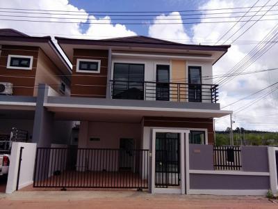6A40351 ให้เช่าบ้านแฝด 2 ชั้น 3 ห้องนอน 3 ห้องน้ำ พื้นที่ 35.8 ตรว. ใกล้โลตัสถลาง ราคาเช่าเดือนละ 15,000 บาท