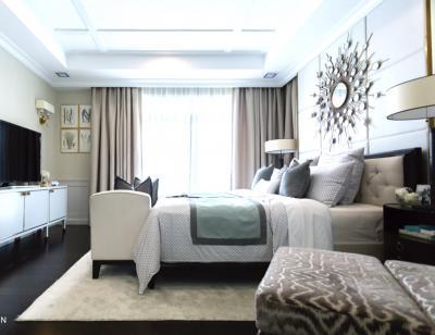 ให้เช่าบ้าน New house! Nantawan Bangna Km.7  440 ตรม. 150 ตรว. 4 bedrooms  5 bathrooms ราคา 240,000 บาท / เดือน fully furnished สนใจติดต่อได้ที่ กำไล Tel.0863284462 , ID Line 0863284462