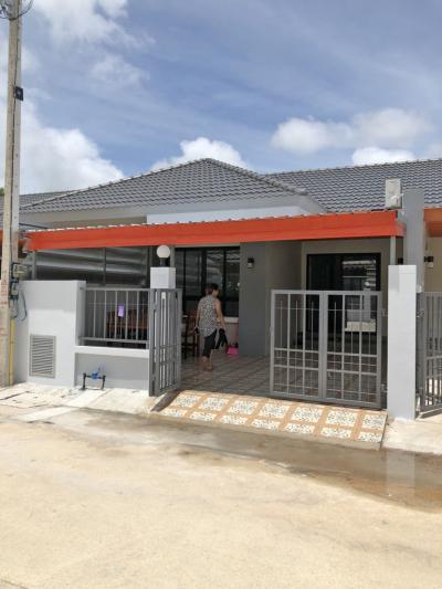 6A20069 ให้เช่าทาวน์เฮ้าส์ชั้นเดี่ยวในโครงการ 2 ห้องนอน 2 ห้องน้ำ.