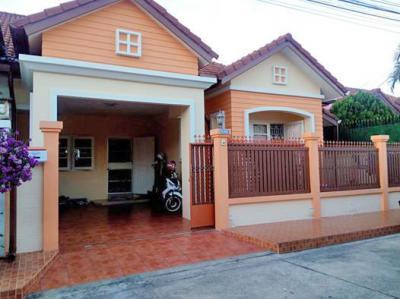6A90898 ให้เช่าบ้านแฝดชั้นเดียวในโครงการ เป็นบ้านเปล่า เดือนละ 13,000 บ.