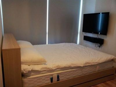 Condo for Rent Ideo Verve Sukhumvit (ไอดีโอ เวิร์ฟ สุขุมวิท) close to BTS On Nut price 27000  THB/Month 2 bed 1 bath ไอดีโอ เวิร์ฟ สุขุมวิท ให้เช่าคอนโด ใกล้บีทีเอส อ่อนนุช ราคา 27000 บาท/เดือน