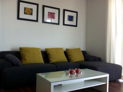 ให้เช่าคอนโด The Room Sukhumvit 62 (เดอะ รูม สุขุมวิท 62) ชั้น 6 พื้นที่ 80 ตรม. 2 ห้องนอน 2 ห้องน้ำ ใกล้ BTS ปุณณวิถี ราคา 38,000 บาท/เดือน fully furnished สนใจติดต่อได้ที่ กำไล Tel.0863284462 , ID Line 0863284462