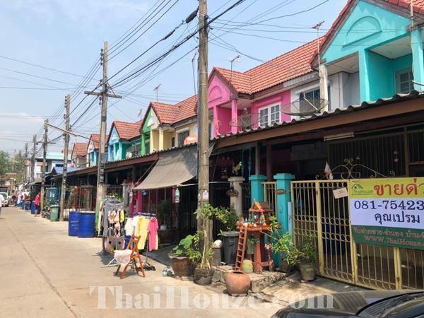 ทาวน์เฮาส์ 1200000 ปทุมธานี เมืองปทุมธานี สวนพริกไทย