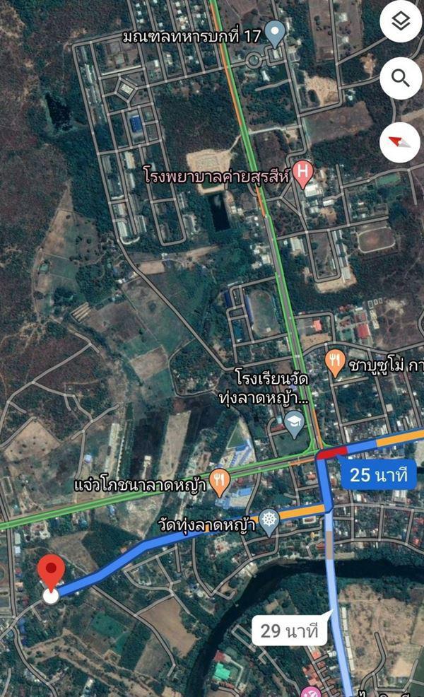 ที่ดิน 1500000 กาญจนบุรี เมืองกาญจนบุรี ลาดหญ้า