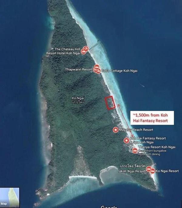 ที่ดิน 700000000 กระบี่ เกาะลันตา เกาะลันตาใหญ่