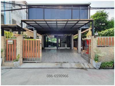 บ้านเดี่ยวสองชั้น 6990000 กรุงเทพมหานคร เขตบางกะปิ คลองจั่น